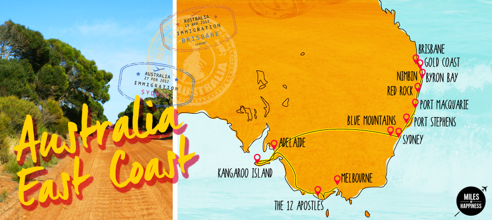 The Ultimate Guide To A Mythical Road Trip Australia East Coast Miles Of Happiness