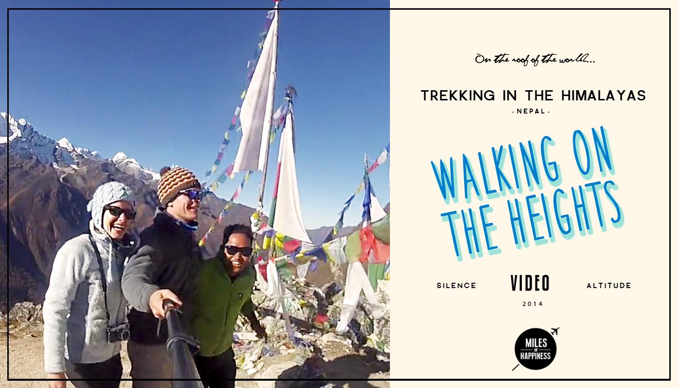 Trekking in the Himalayas Video