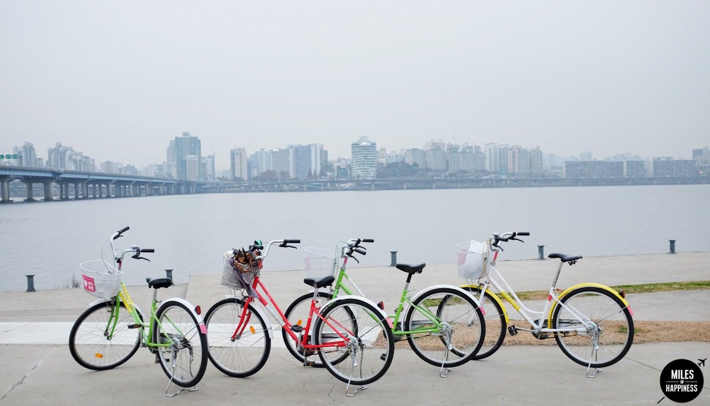 Quick guide to Seoul in 48h - Biking