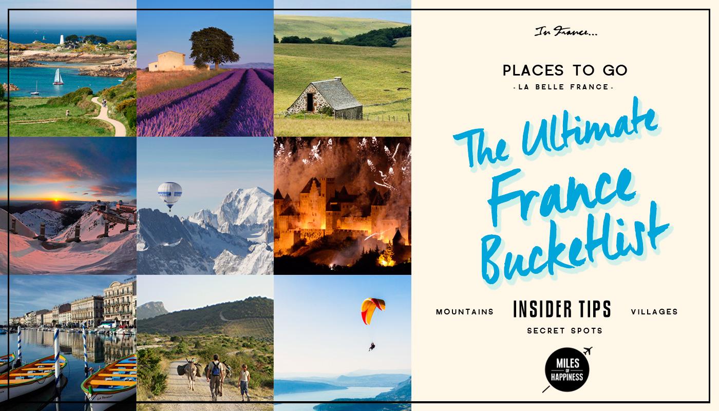 The France Ultimate Bucketlist