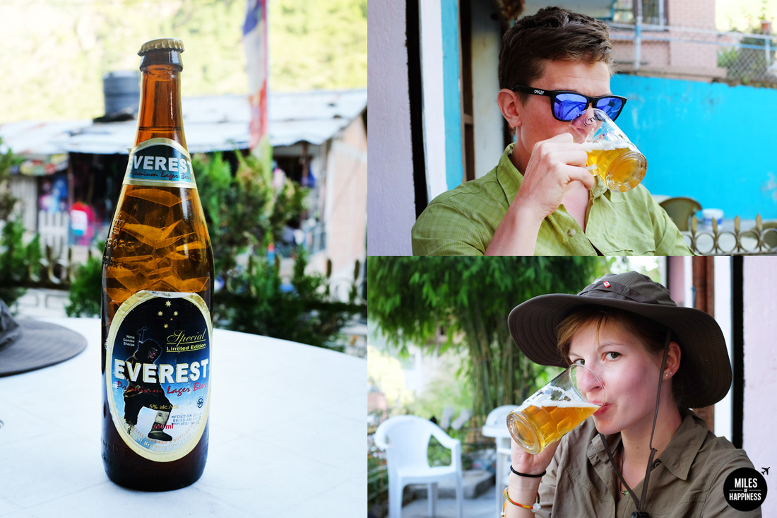 Best beer in the Himalayas - The Everest