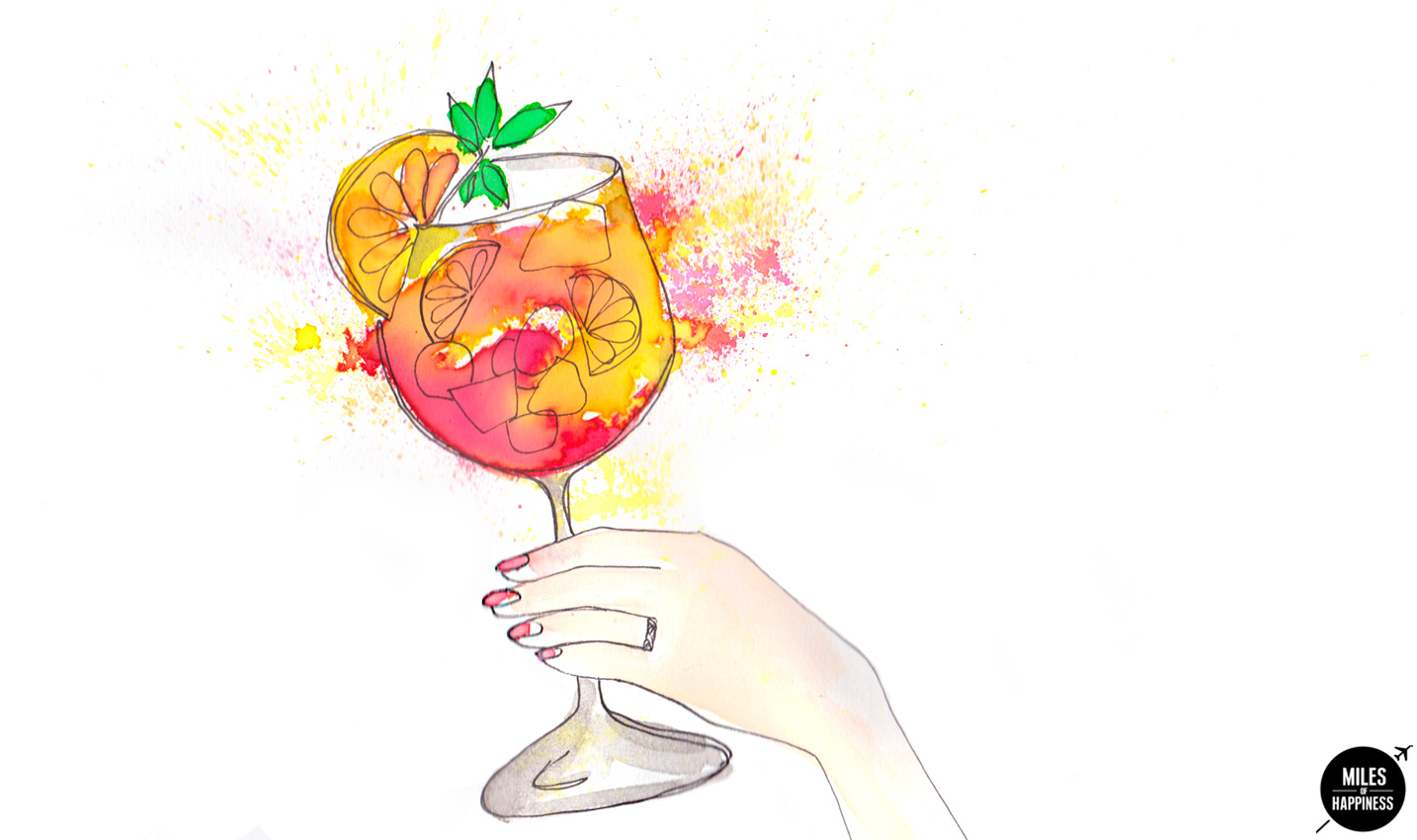 What to do in Madrid : Drink Sangrias from a rooftop