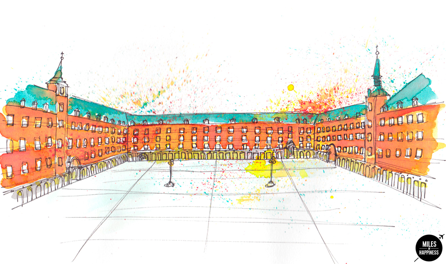 What to do in Madrid : Plaza Mayor