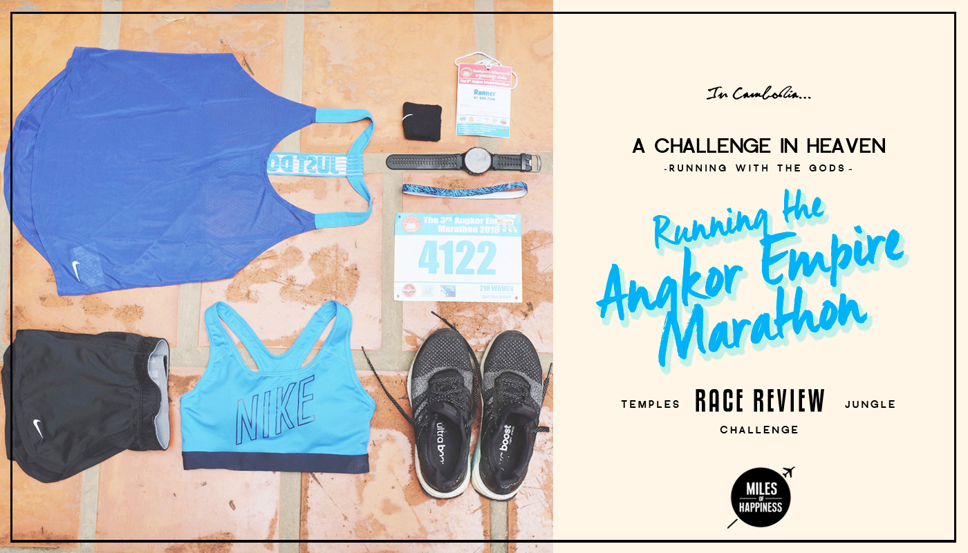 Running the Empire Angkor Half Marathon in Cambodia