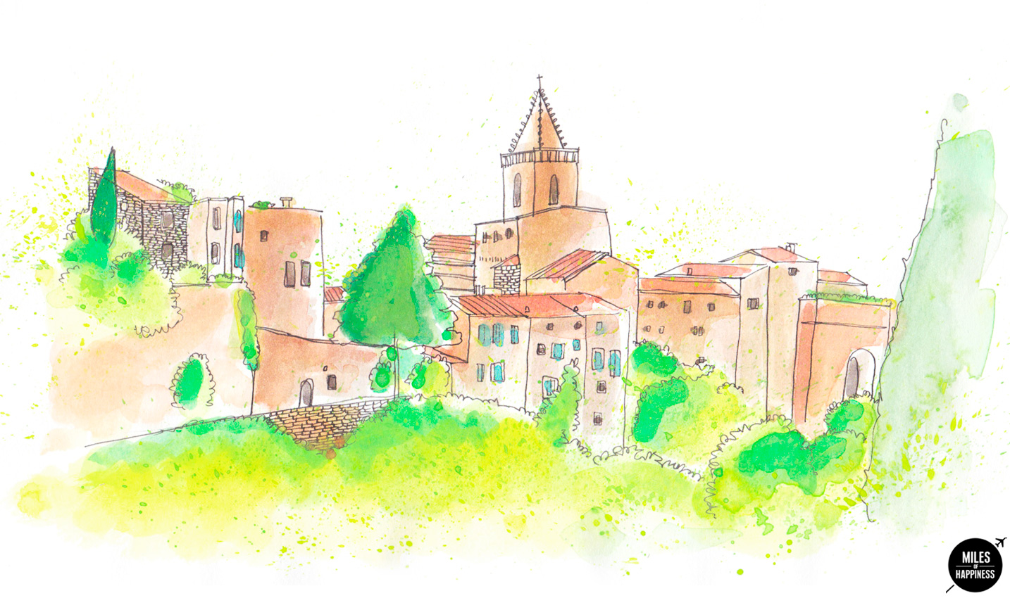 10 of the most beautiful villages in Provence: Venasque