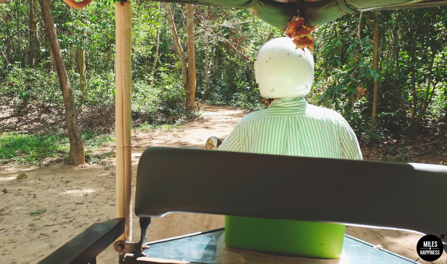 Exploring Tai Nei temple in Angkor