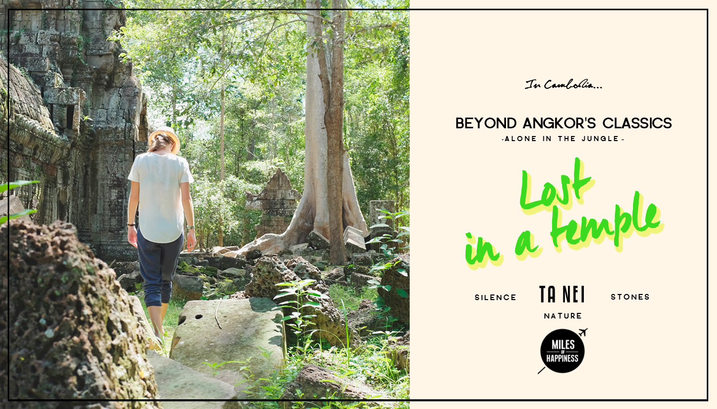 Beyond Angkor's Classics: Lost in a Temple