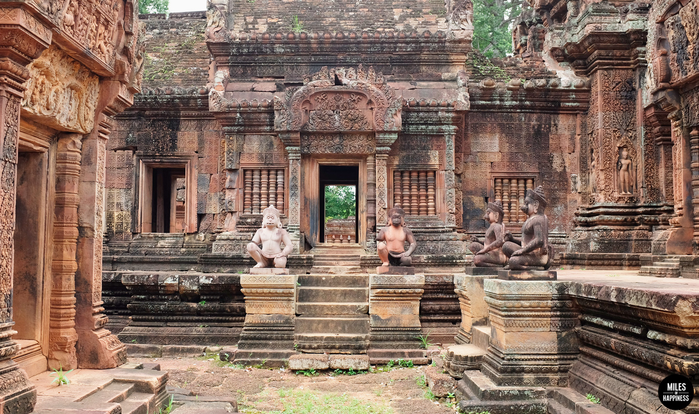Itinerary of a 4 days trip in Cambodia : Banteay Srei