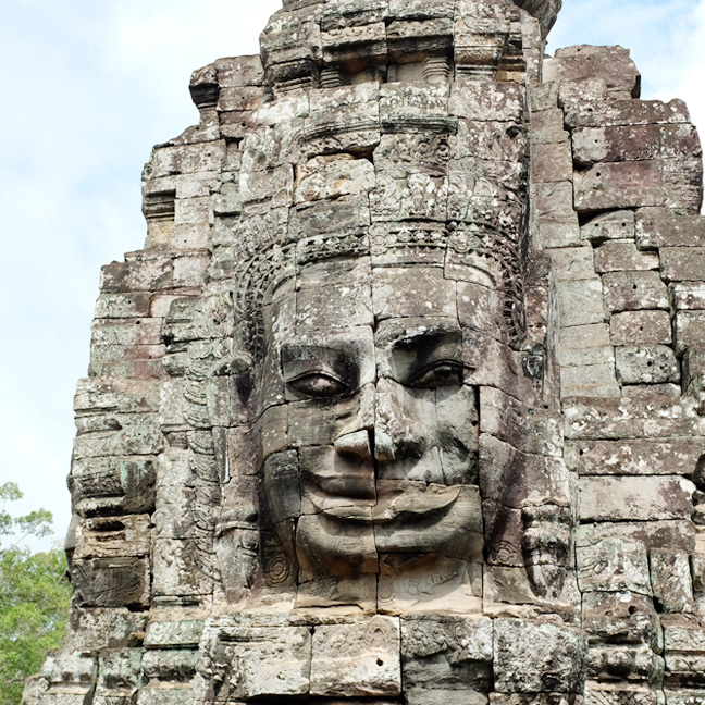 Itinerary of a 4 days trip in Cambodia : Bayon Temple