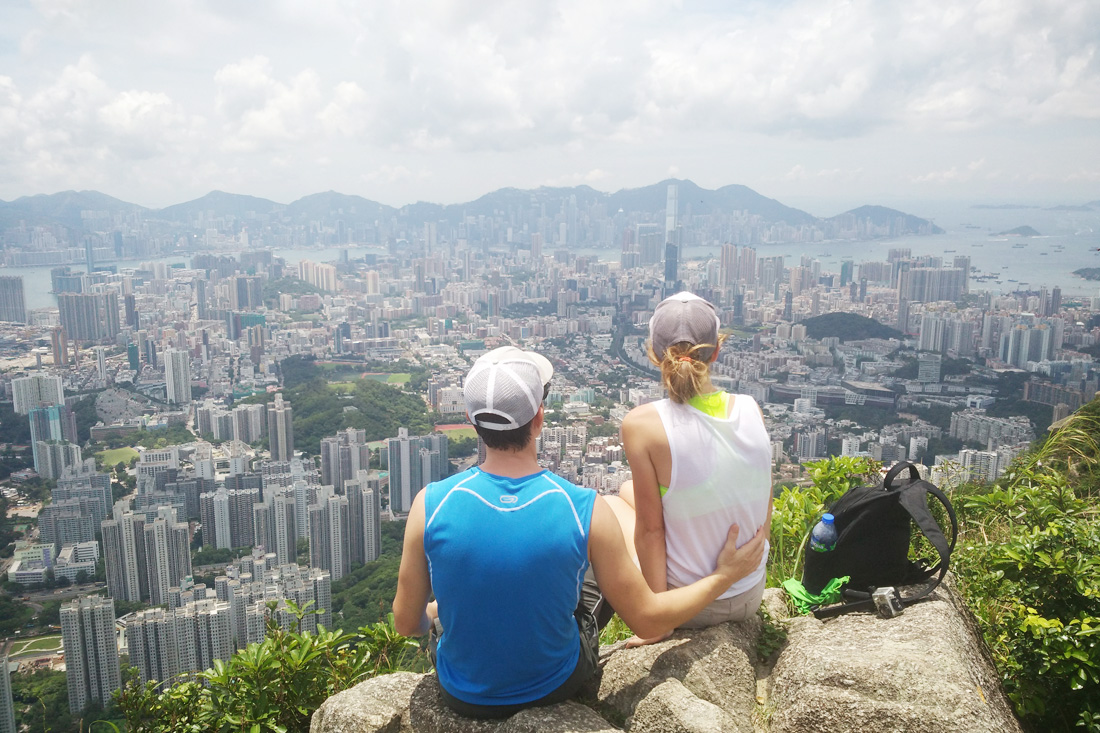 How we ditched our expensive wedding plans to travel the world