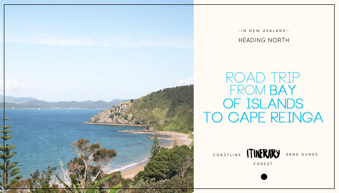 Heading North in New Zealand: Itinerary of a road trip from Bay of Islands to Cape Reinga