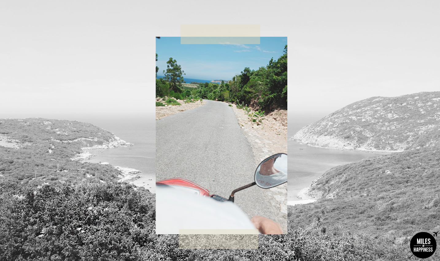 Wonderful Vietnam: Driving on the Vinh Hy-Binh Tien Pass
