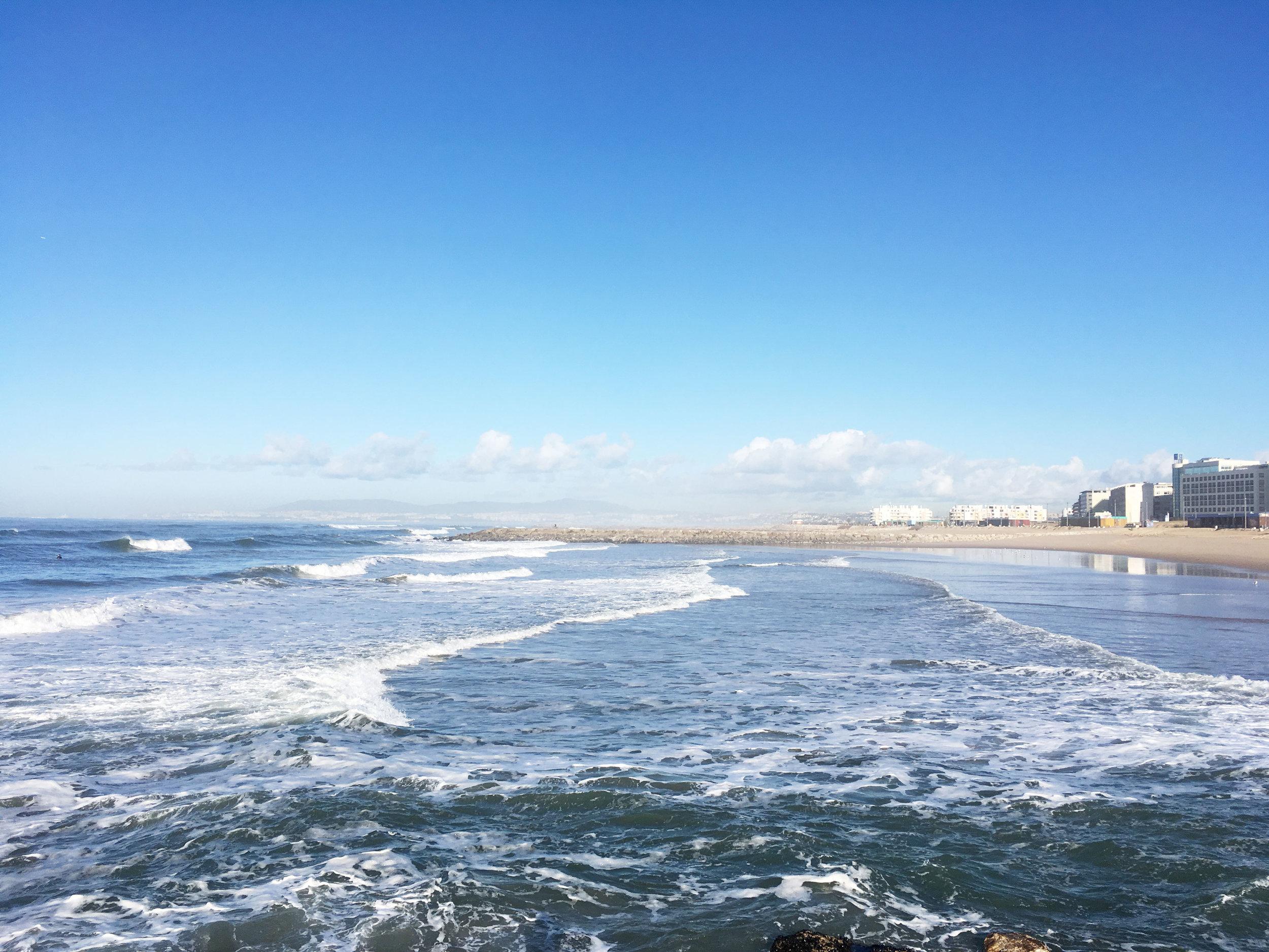 discover portugal - lisbon, costa da caparica