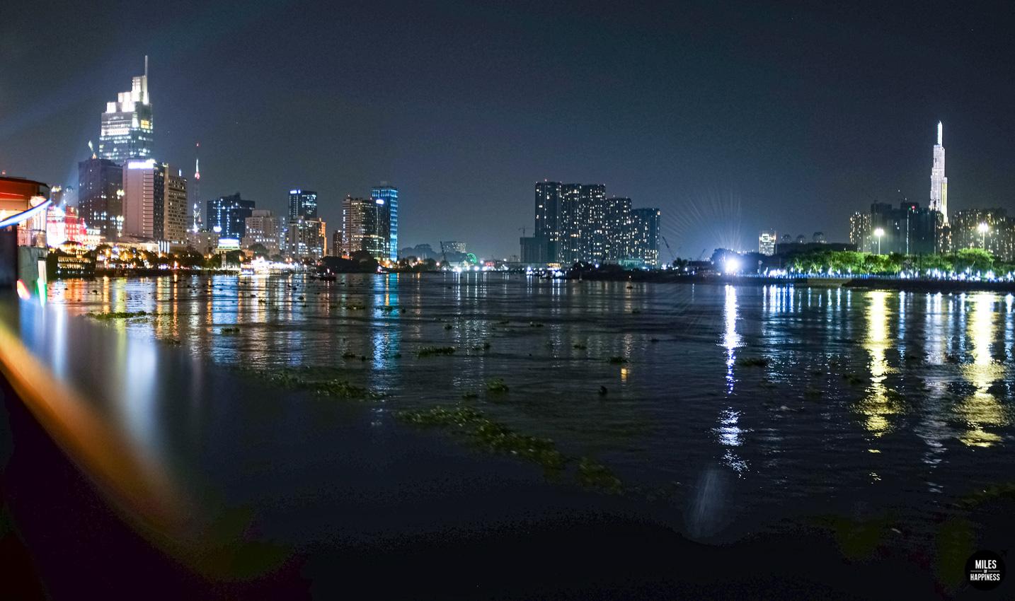 An evening on Saigon River - With Bonsai Cruise