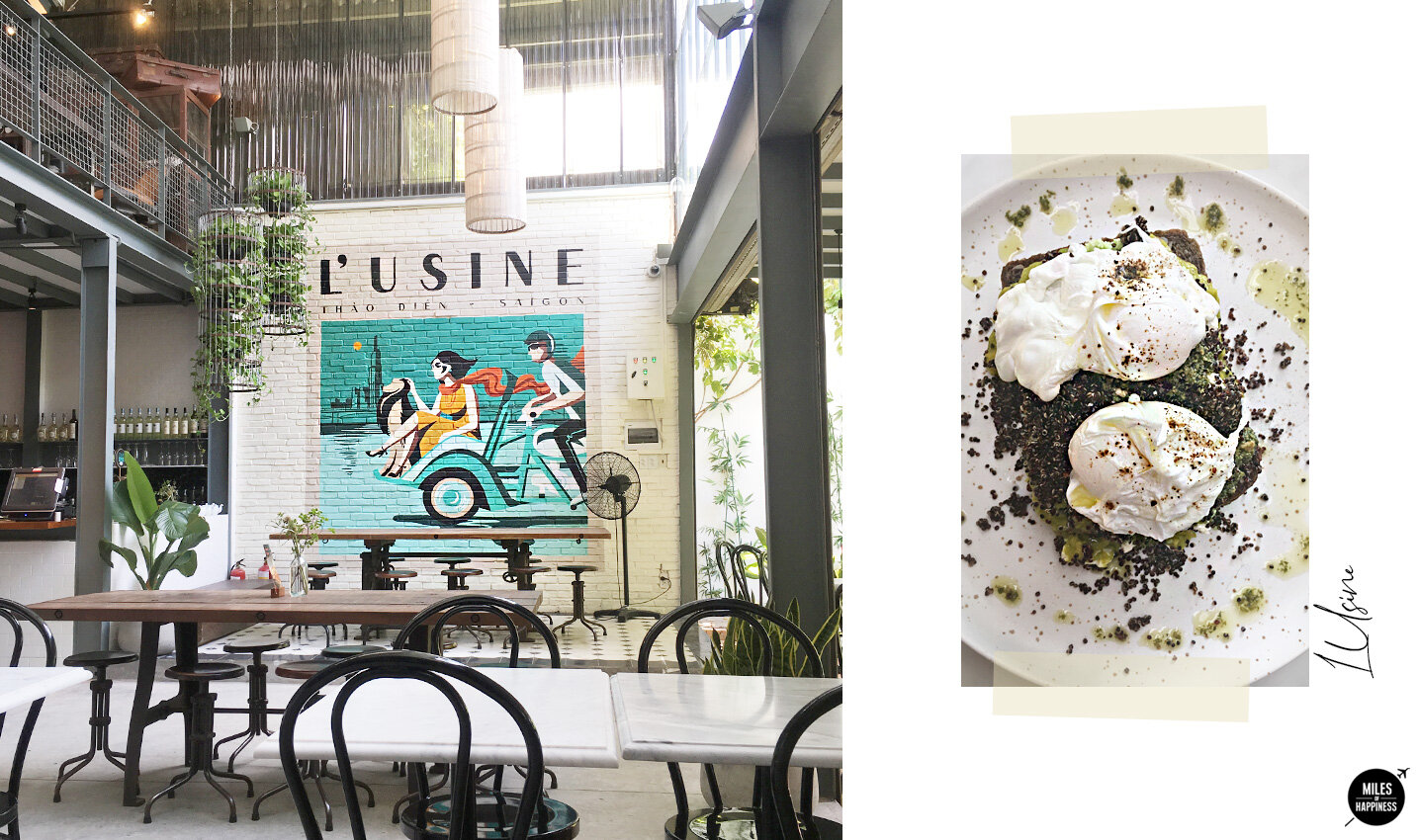 Where to eat in Ho Chi Minh - L'Usine