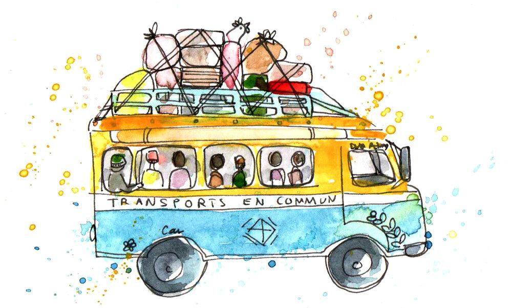 Transports en commun Senegal