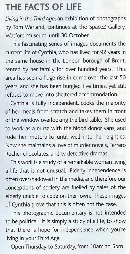 Optima Magazine, October 2010 Page 12