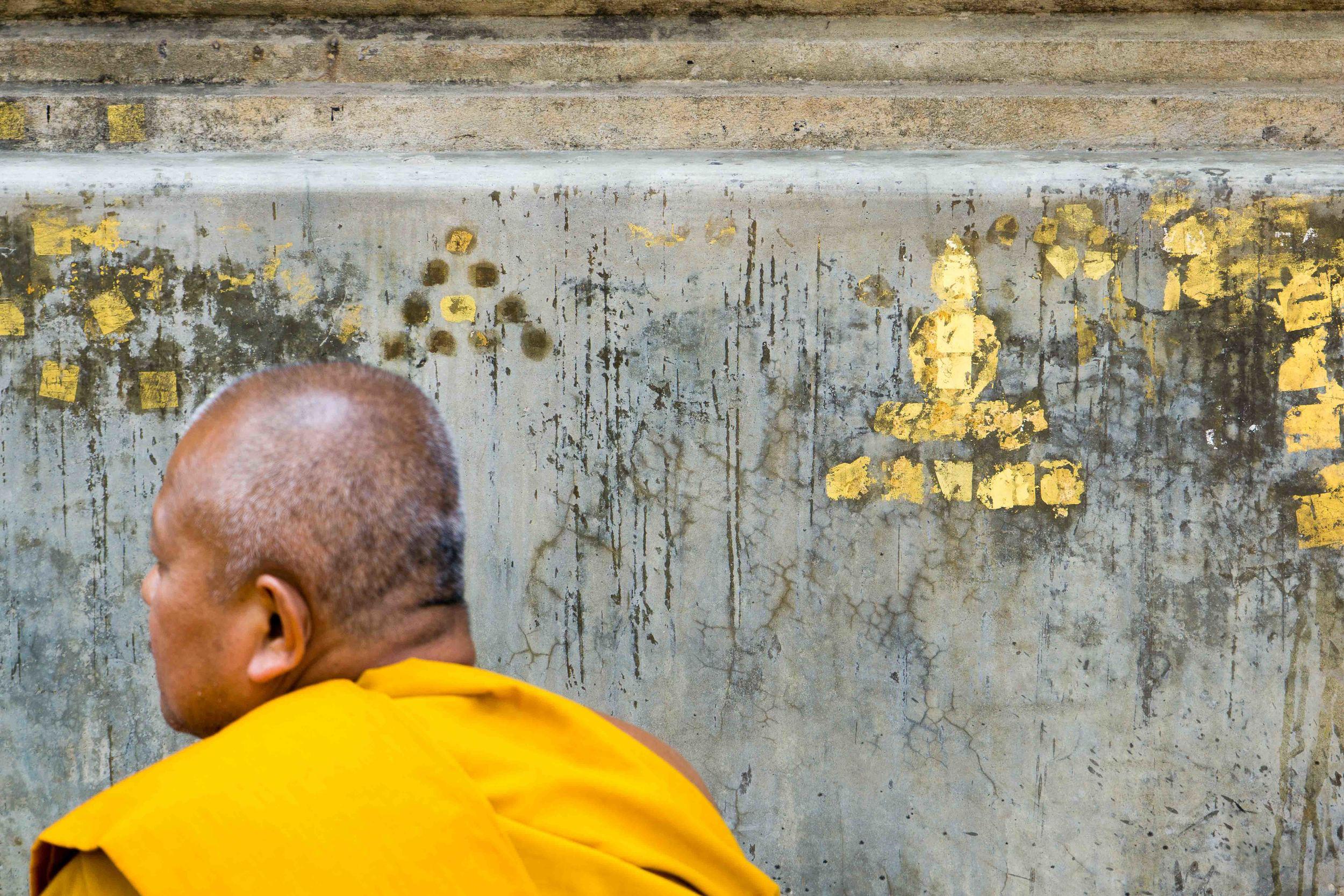 graffiti buddha by Kimberly Poppe