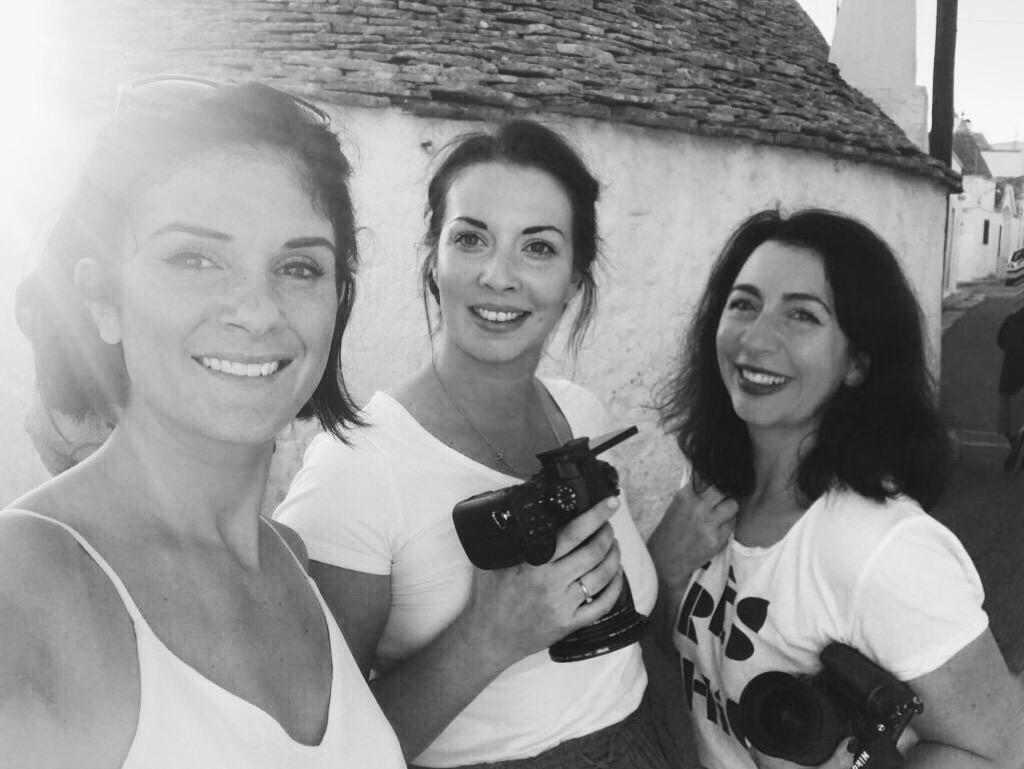 Fun at a shoot in Puglia…