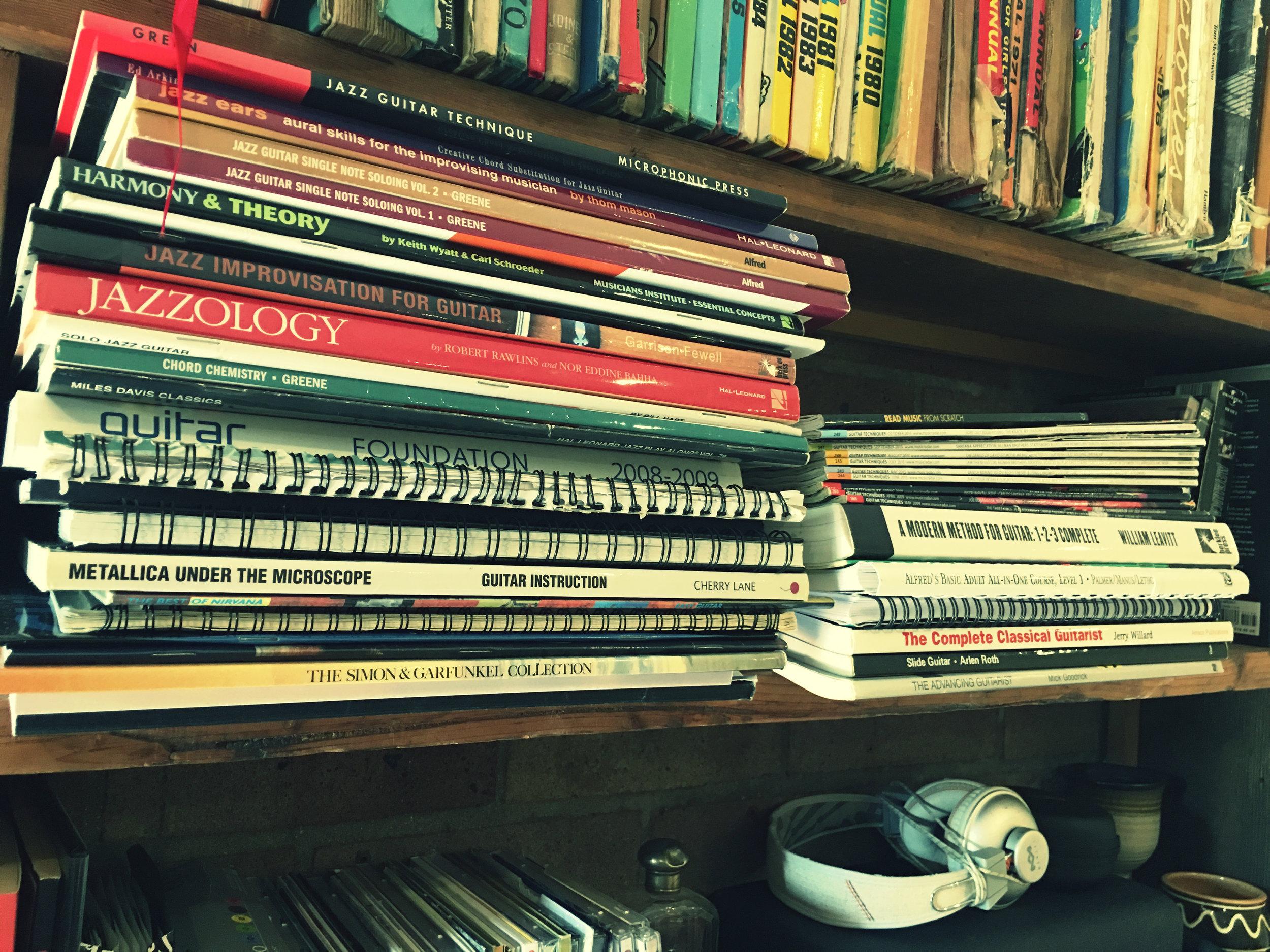Guitar books!
