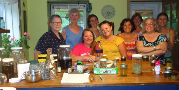 Making Herbal Medicine 101 Class, June 30th, '14