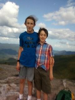 Atop Cascade Mt.