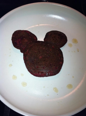 Fun shapes always amused my kids into eating veggie infused pancakes.     Photo Courtesy Of Christina Smith, Parishville.