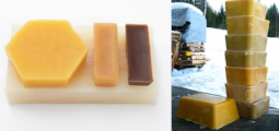 Why does beeswax color vary?