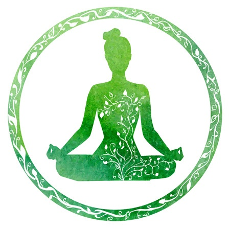 Green is the Heart Chakra... Love Your Yoga!