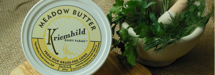 Local NYS Butter I am VERY grateful for.