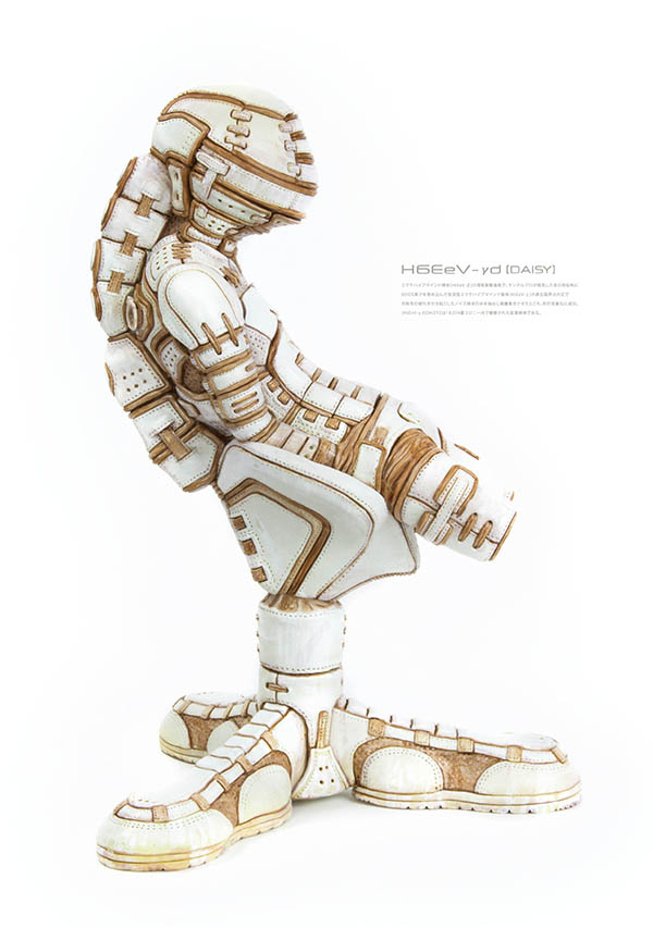 909-3D / H6EeV-γd / Epoxy Clay / Sculped by MECHIKURO