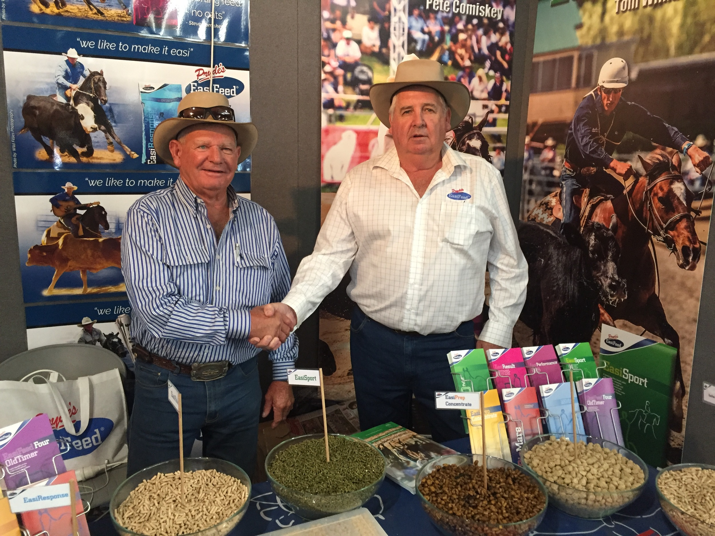"""John has always been a true championhorseman for several horse sports & an Australian Icon.  The amount people that called in at the Pryde's stand and talked to John truly reflects what a great horseman he is and Pryde's are very honored to have him use & promote our feeds. A True Champion.         Normal   0           false   false   false     EN-AU   ZH-TW   AR-SA                                                                                                                                                                                                                                                                                                                                                                                                                                                                                                                                                                                                                                                                                                                                                                                                                                                                       /* Style Definitions */  table.MsoNormalTable {mso-style-name:""""Table Normal""""; mso-tstyle-rowband-size:0; mso-tstyle-colband-size:0; mso-style-noshow:yes; mso-style-priority:99; mso-style-parent:""""""""; mso-padding-alt:0cm 5.4pt 0cm 5.4pt; mso-para-margin:0cm; mso-para-margin-bottom:.0001pt; mso-pagination:widow-orphan; font-size:11.0pt; font-family:""""Calibri"""",sans-serif; mso-ascii-font-family:Calibri; mso-ascii-theme-font:minor-latin; mso-hansi-font-family:Calibri; mso-hansi-theme-font:minor-latin;}"""