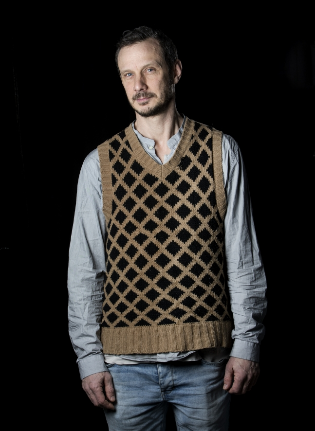 Porträtt på Gunnar Almevik. Foto Johan Wingborg