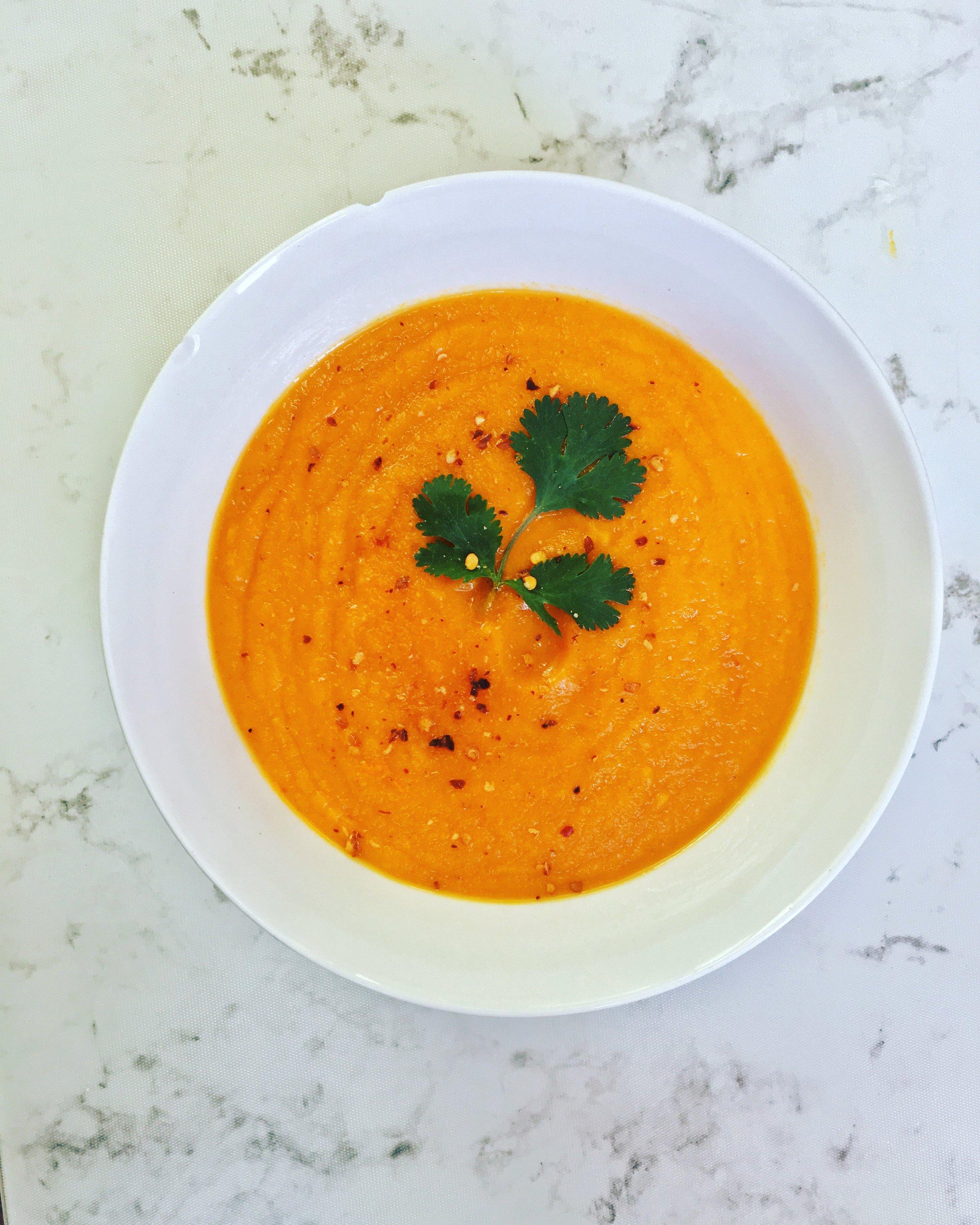 Carrot soup .JPG