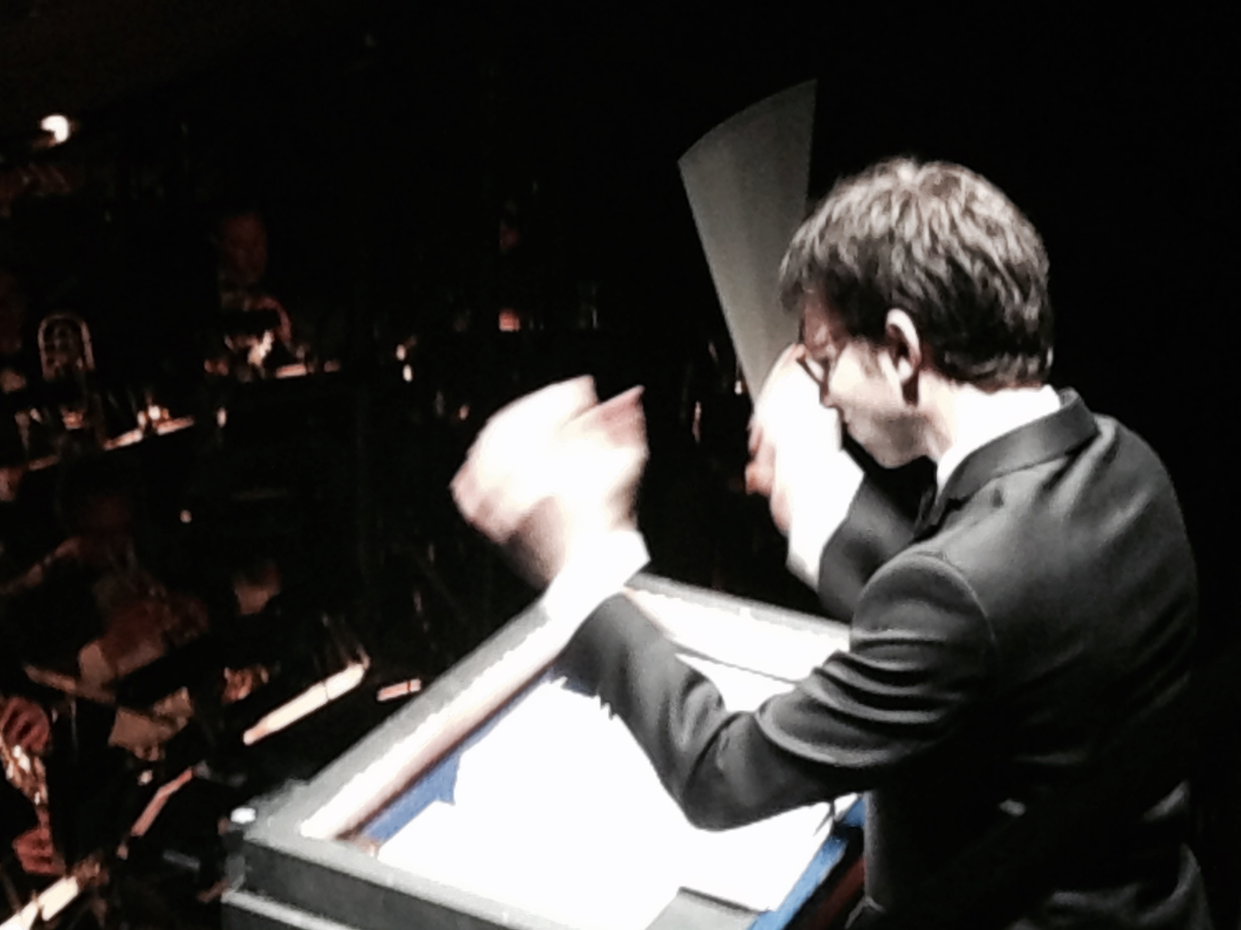 Former BNHM Accompanist Andrew Resnick conducting the Broadway revival of The Kingand I