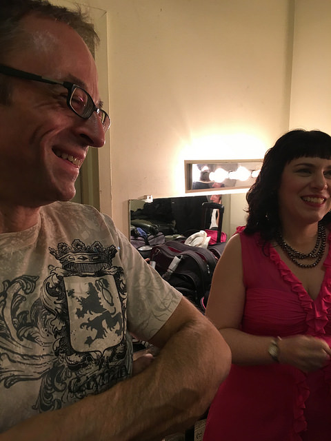 Gary Adler and Debbie Rabbai Pre Show