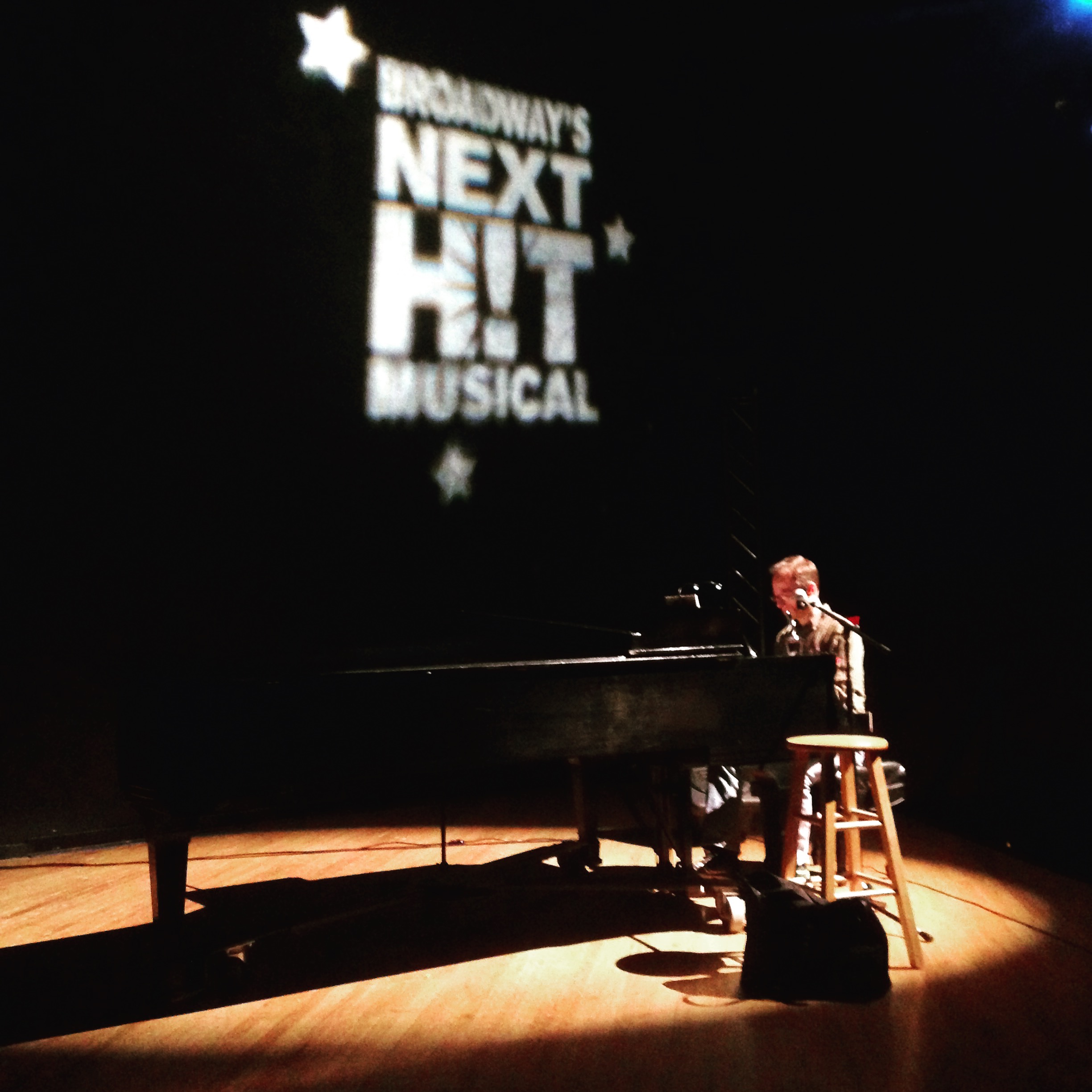 Gary Adler at the piano pre-show