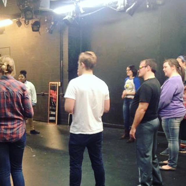 Rachel leading a workshop at OSU