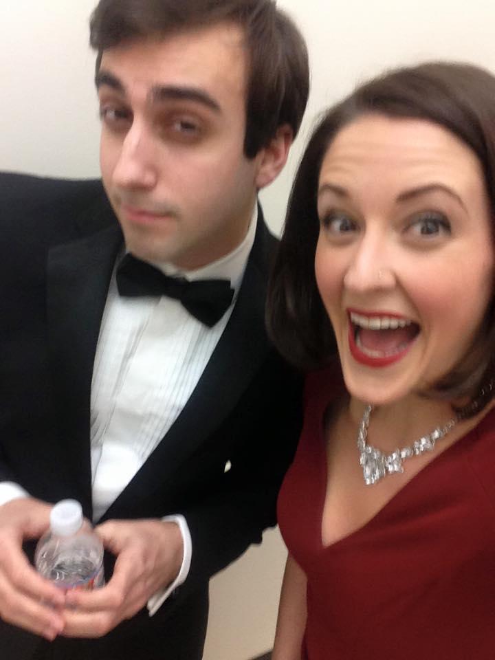 Daniel Tepper and Rachel Bouton Pre-Show