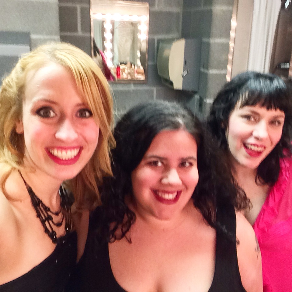 Katie Hammond, Christine Pynn, and Deb Rabbai