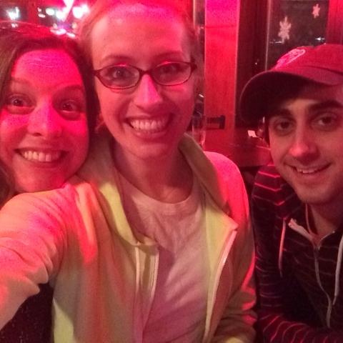 Beth, Katie Hammond, and Daniel Tepper post show!