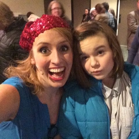 Katie Hammond and An Awesome Audience Member