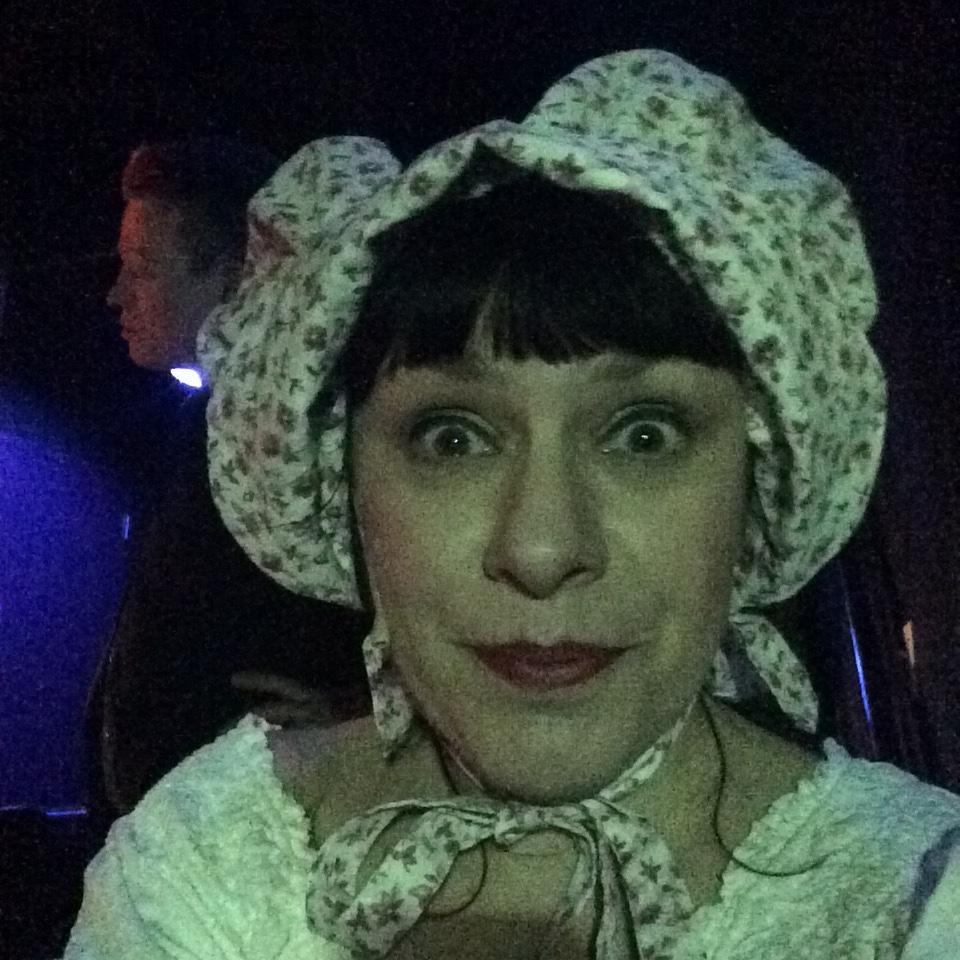 Deb Rabbai backstage