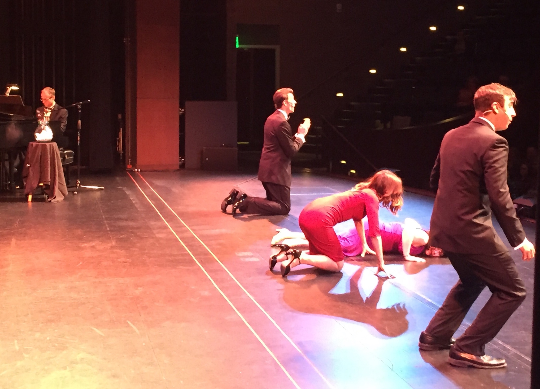 Onstage, Act I