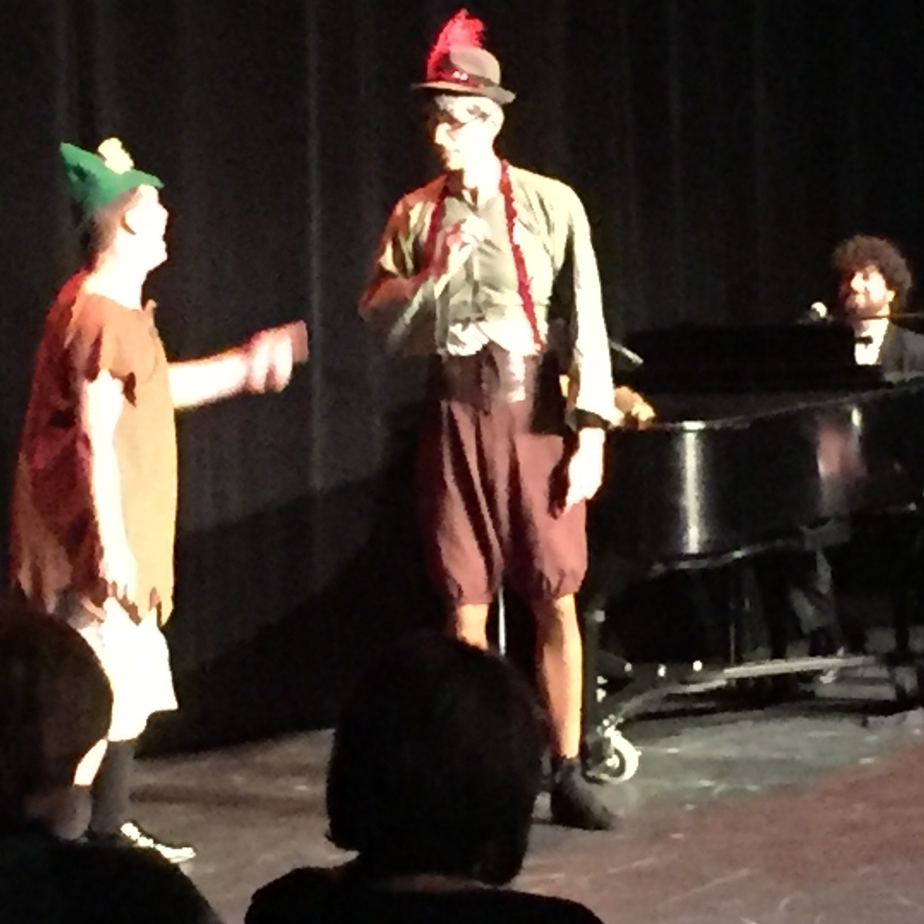 Robert Z. Grant Onstage With Matt Giroveanu and Eric March