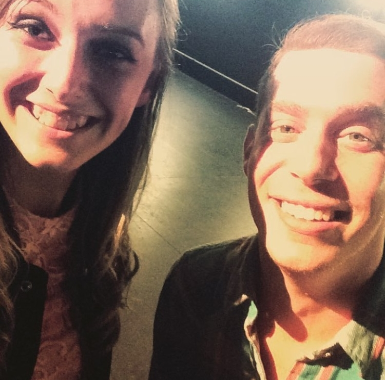 Morgan, who helped us out backstage and Matt Giroveanu