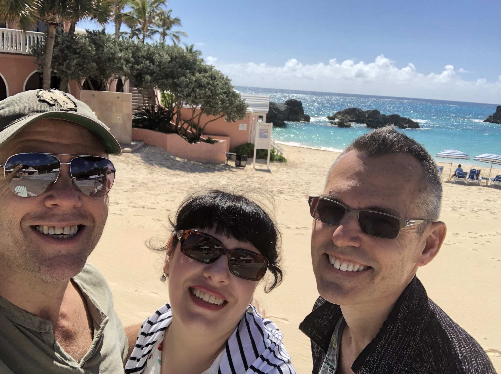 Greg Triggs, Deb Rabbai, and Greg's husband, Matt Nolen
