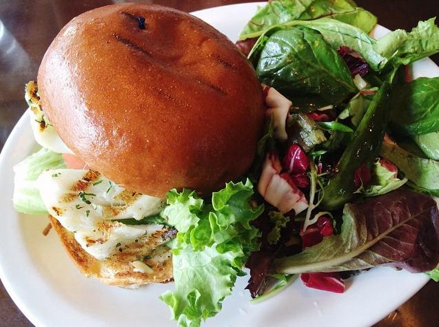 Chilean Sea Bass Burger