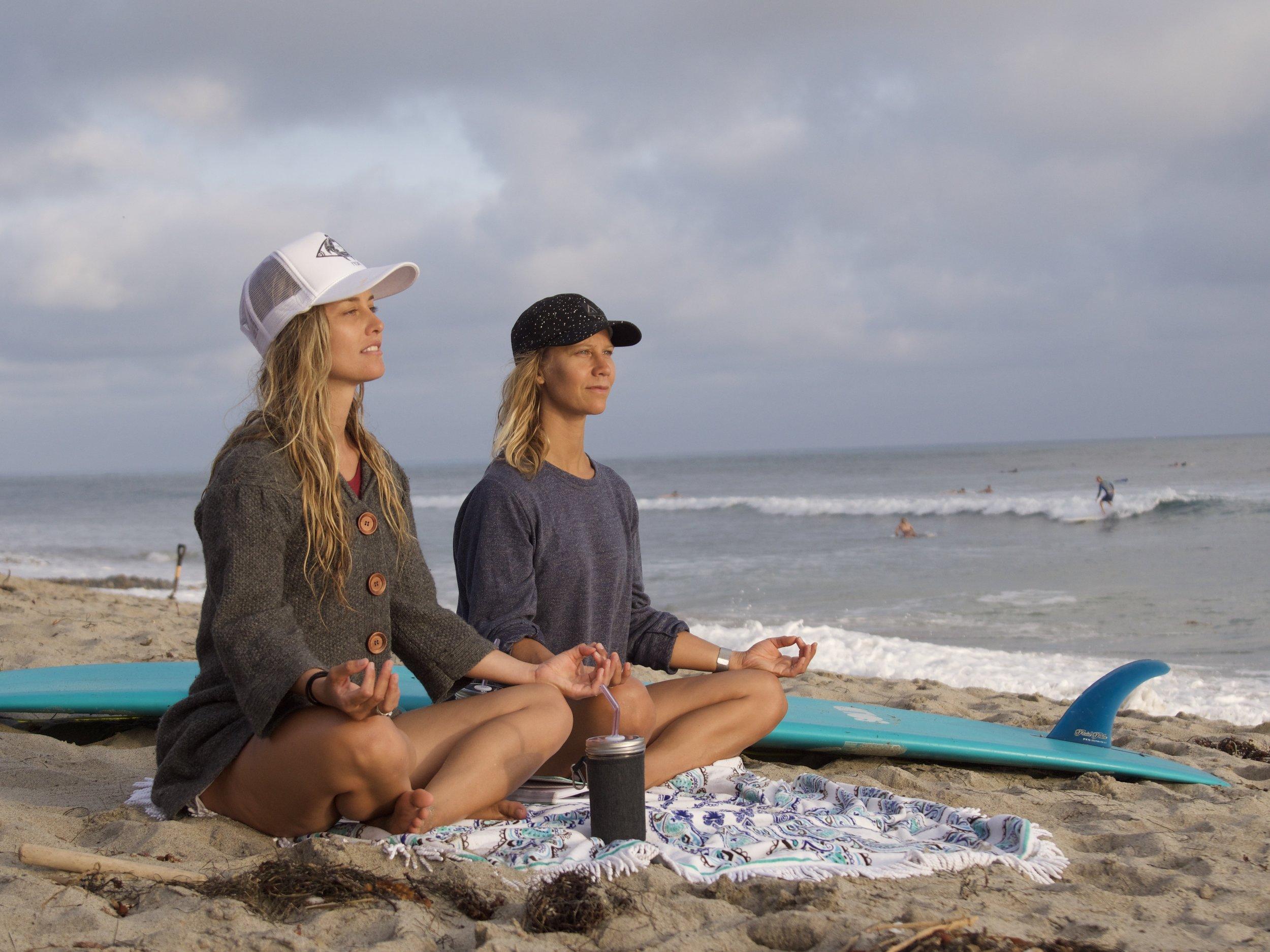 KJ and Chanelle meditation.jpg