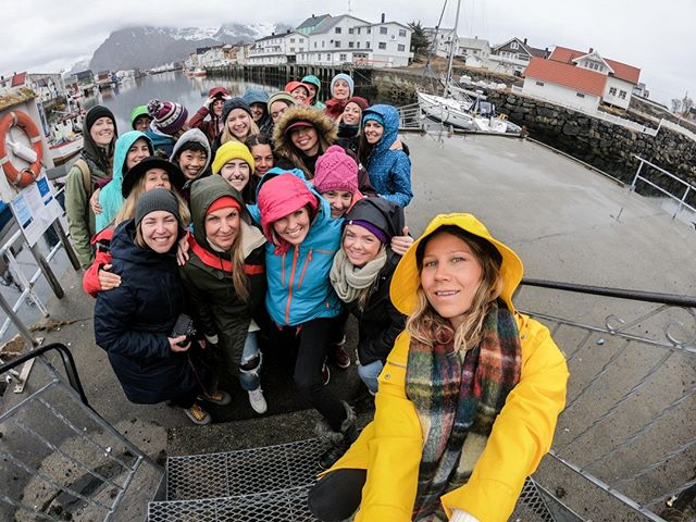 Here are the ladies from our 2018 Lofoten Women's Adventure retreat. The 2020 retreat is already on high demand so if you are interested please make sure to reserve your spot on www.prsnt.co - You can also sign up to our newsletter and stay up to date. We love the growing community of adventurous ladies, coming together to learn, support and care for oneself, one another and for Mother Nature. We are excited to continue this amazing journey, connecting more women from all over the world, so we can share our passion for nature, the ocean, using our bodies actively and taking moments to be still and #bprsnt ⁣ (ladies help us tag everyone 🤸‍♀️) ⁣.⁣⠀⁣⠀ .⁣⠀⁣⠀ ⁣.⁣⠀⁣⠀ ⁣⠀ .⁣⠀⁣⠀ #community #protectnature #protectourwinters #climatechange #snowboarding #norway #lofoten #bprsnt #prsnt #womensretreats #womensadventureretreats #retreats #retreat⁣ #optoutside #exploremore #getoutside #neverstopexploring #outdoorist #weareoutdoor #liveadventurously #liveoutdoors #unlimitedadventure #lovelifeoutside #naturegram #lifeofadventure #wearcolour #goexplore #discoverearth #powsweden